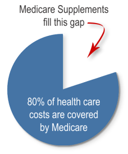 Medicare coverage pie chart