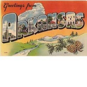 Arkansas Vintage Postcard