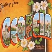 Vintage Georgia Postcard