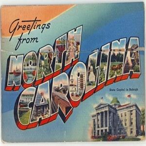 Vintage NC Postcard