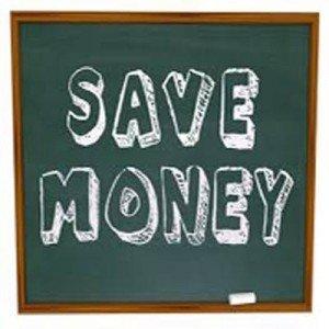 Chalkboard Save Money