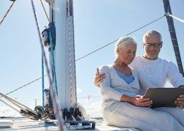 Couple on Sailboat